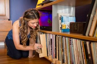 Kate Koeppel Design record dividers A-Z dividers in situ
