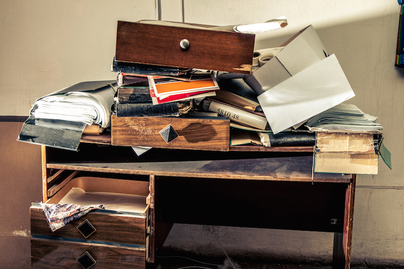One Step to Clear the Clutter - David DeWolf