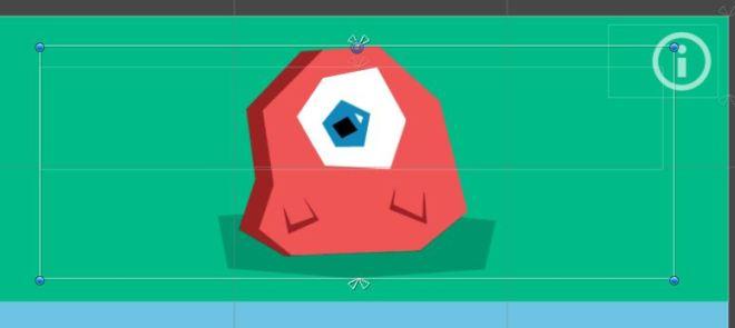 blob image bounding box