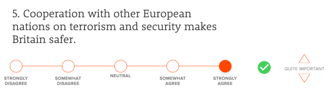 Cooperation with other European nations on terrorism and security makes Britain safer.