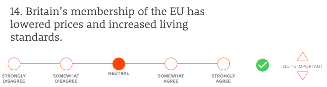 Britain's membership of the EU has lowered prices and increased living standards.