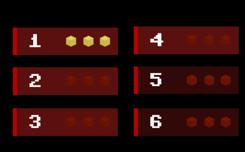 menu buttons