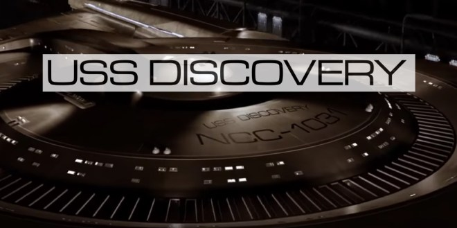 USS Discovery Microgramma ext font