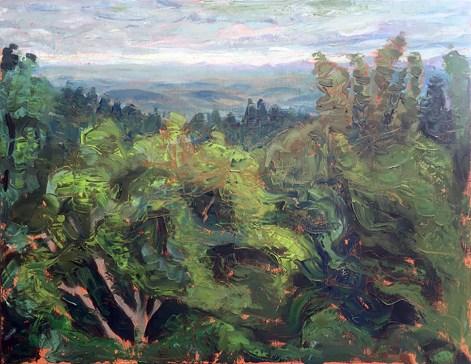 oil on panel, 18 x 24