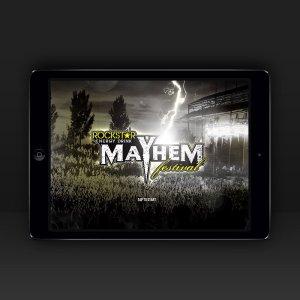 Rockstar Mayhem Event App
