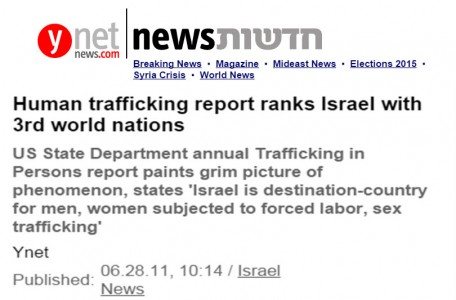 israel sex trafficking