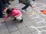 Chalking the square