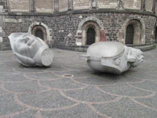 Statue a Bonn.