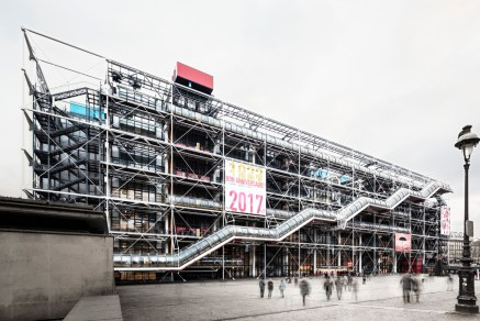 Centre de Pompidou, Paris - Richard Rogers and Renzo Piano, 1977 - Ph. Davide Galli Atelier