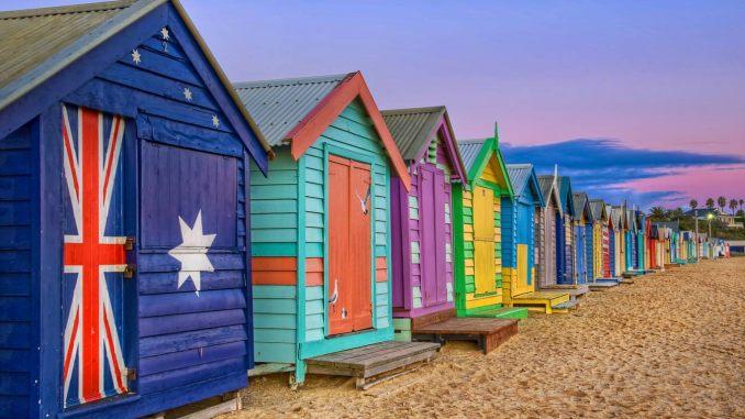 Brighton Beach en Australie