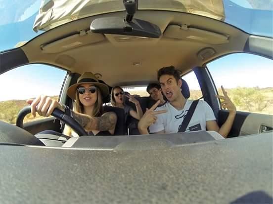gwen trip car