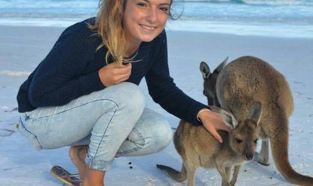 Lucile se fait plaisir en Australie