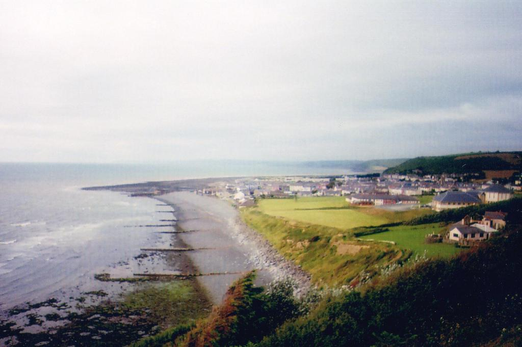 Welsh town on the sea