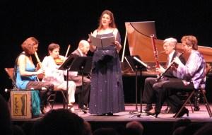 soprano and baroque band