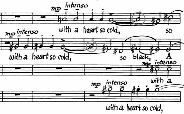 choral music manuscript