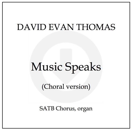 Music Speaks title