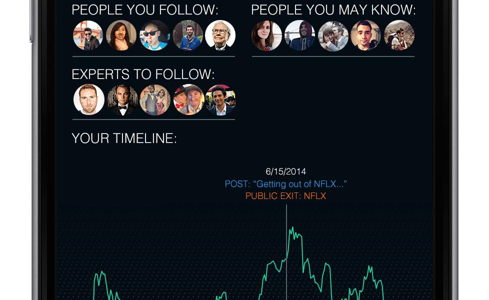 Robinhood investment app concept