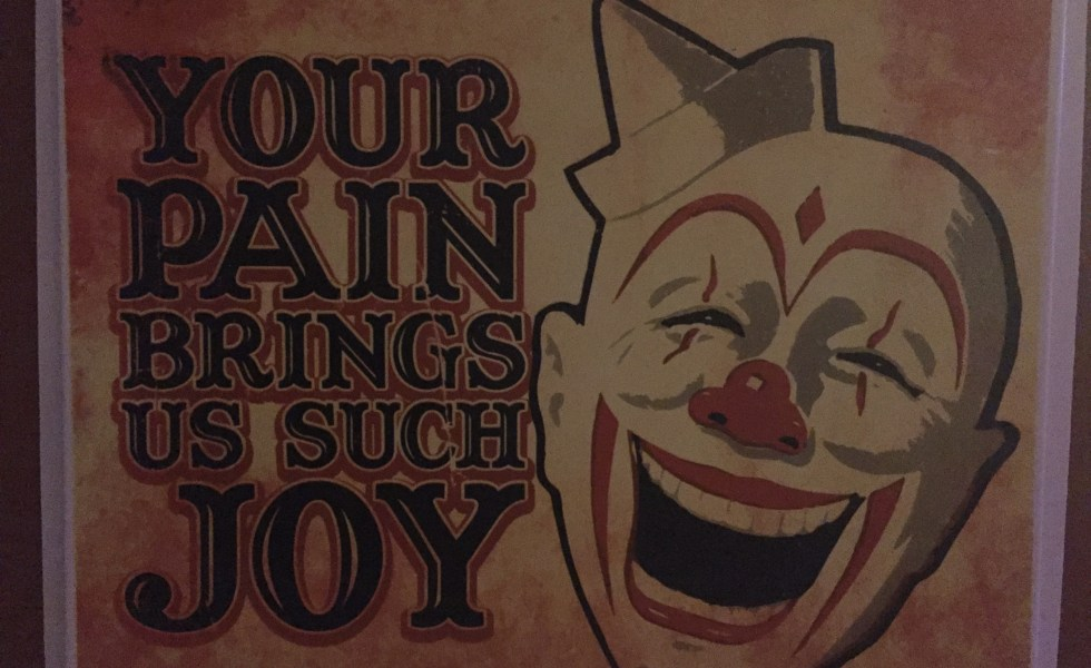 Your pain brings us such joy
