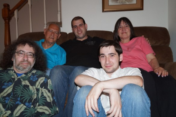 Me and Steven; Lenny, Scott, and Linda