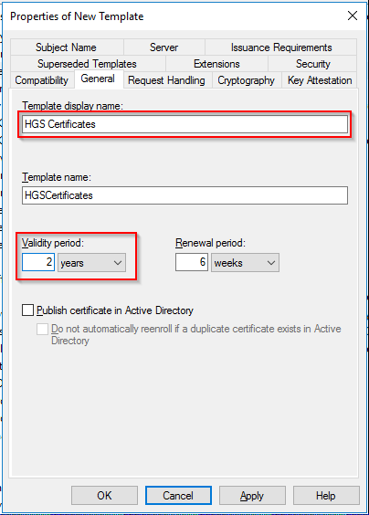 Part 5 deploy and configure the host guardian service on the request handling tab make sure purpose is set to signature and encryption and that allow private key to be exported is ticked yelopaper Choice Image