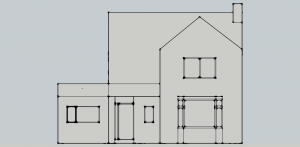 Proposed  - South Elevation