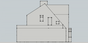 Proposed  - West Elevation