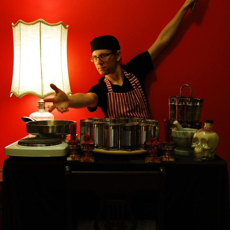 Psychic Cooking Show David Frankovich Performance Art