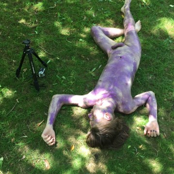 Notes on Camping (Naked State) Media Performance Art David Frankovich