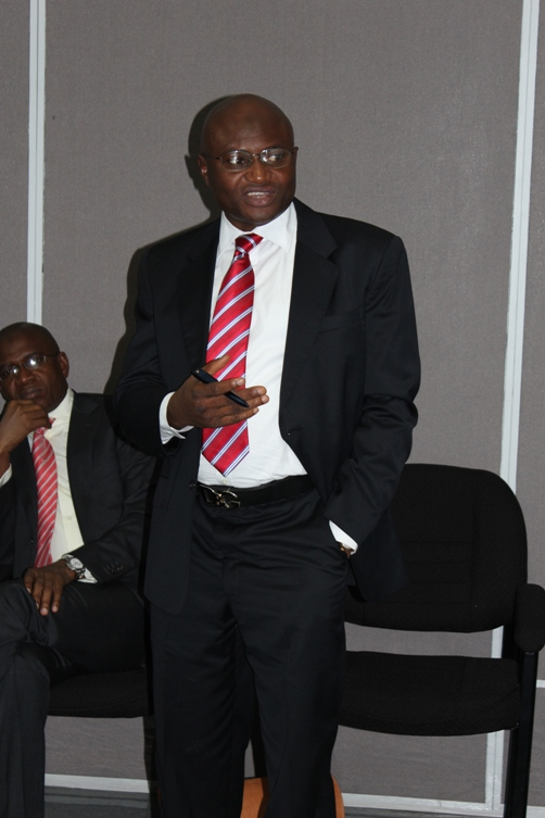 Mr Wale Sonaike, Deputy Managing Director (AutoReg Franchise). Photo courtesy David F Roberts