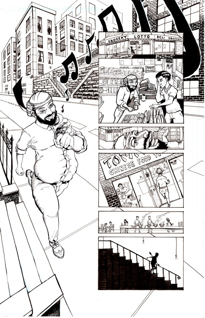 Grandpa's Pet Demon - Page 5 - Inks