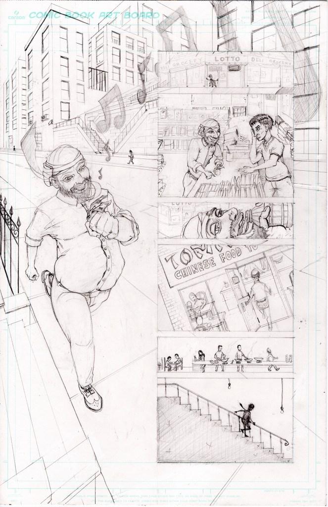 Grandpa's Pet Demon - Page 5 - Pencils