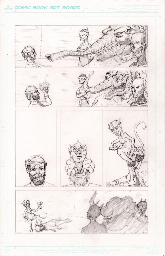 Grandpa's Pet Demon - Page 7 - Pencils