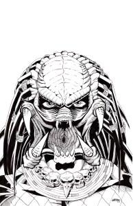 """Predator Mugshot, 11""""x17"""", 2019"""