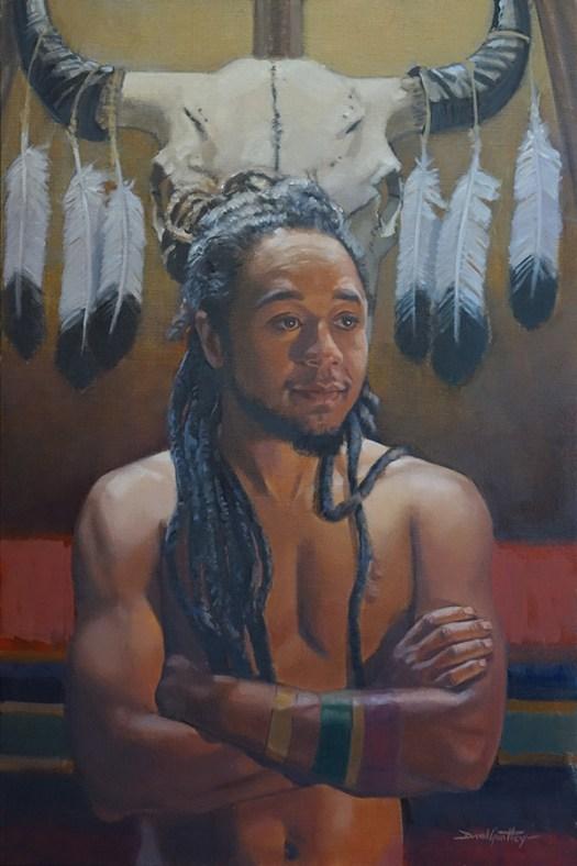 Painting of a Sundancer