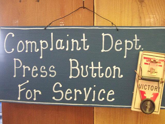 gestión de las quejas