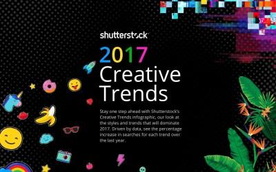 Informe Shutterstock de Tendencias Creativas 2017