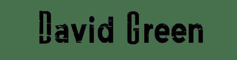 David Green Logo Black