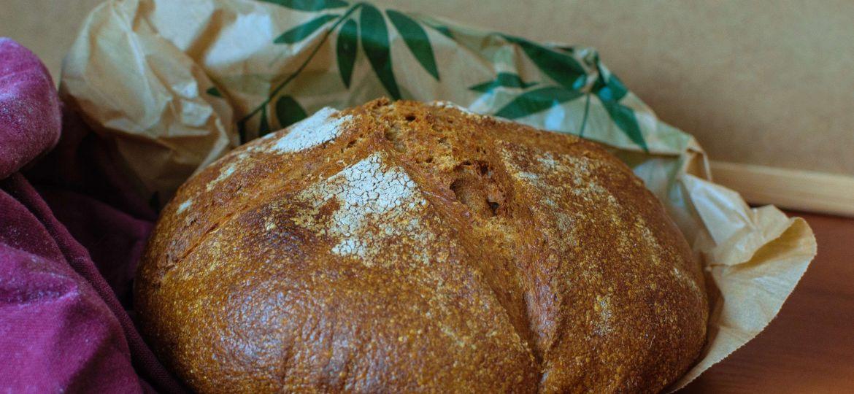 Pan Básico, Tu Primer Pan Integral de Masa Madre