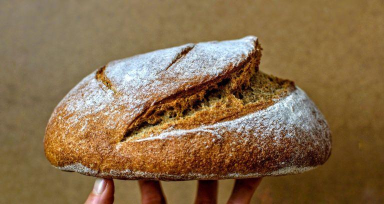 Pan de Masa Madre Integral Receta Paso a Paso
