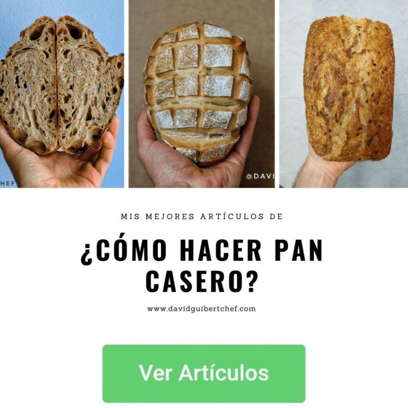 Cómo hacer pan casero para acompañar comida real