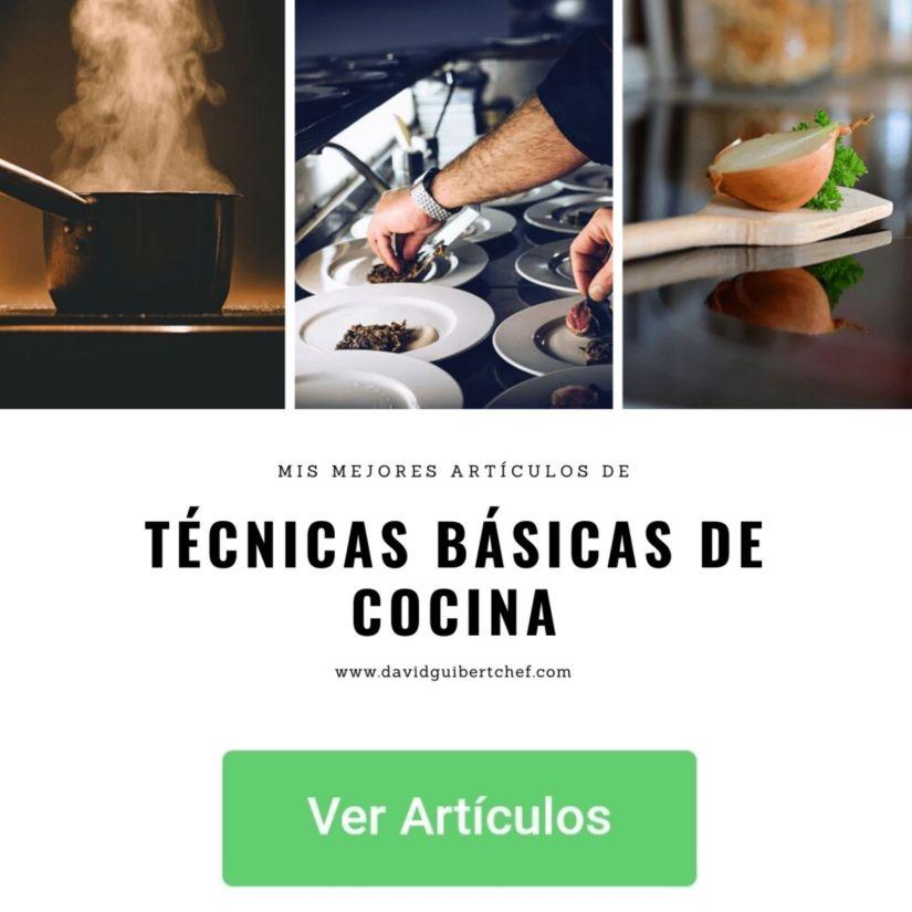 Técnicas de cocina básicas para comer más sano
