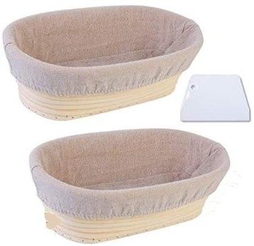 Banneton material necesario para hacer pan