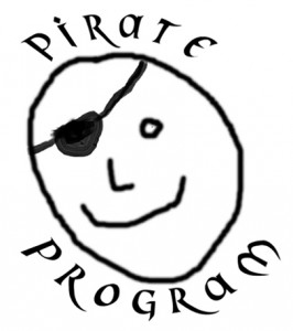face - Pirate badge