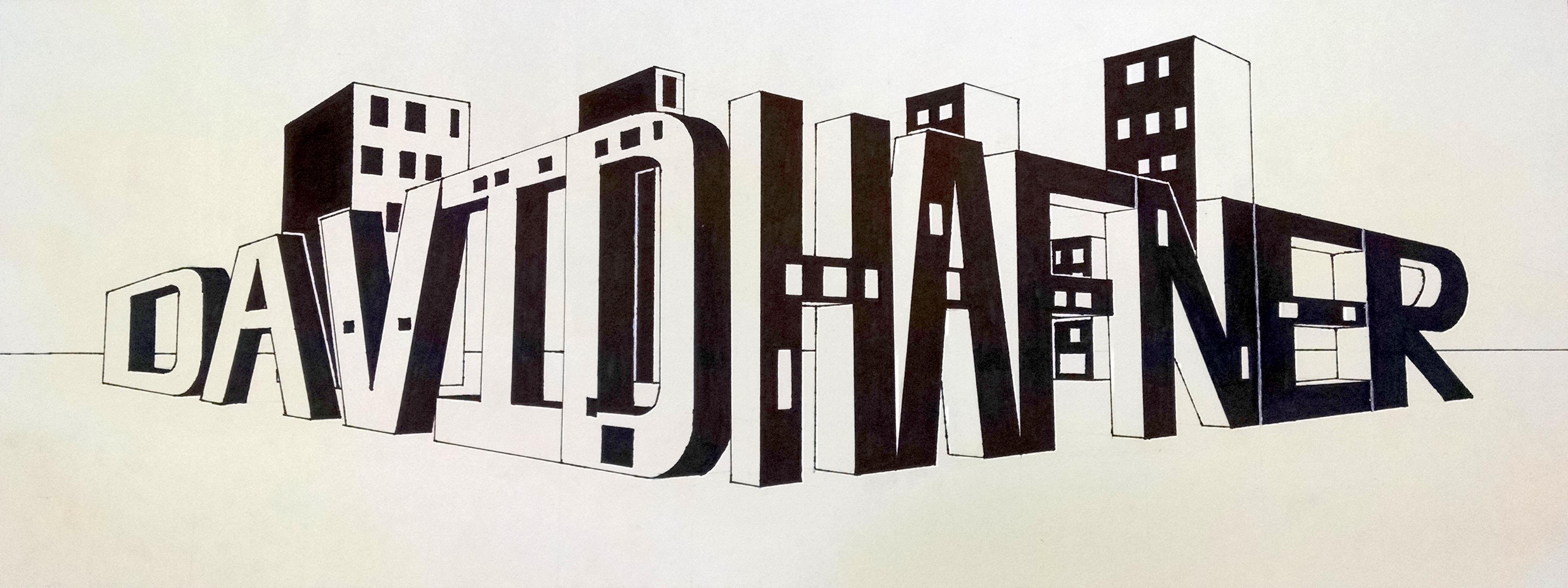 2 Point Perspective Name Drawing Davidhafnergcva