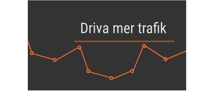 E-handel – Trafik Strategi 1
