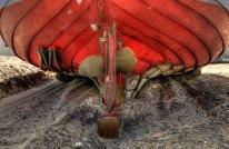 Fishingboat propeller, Thorupstrand, Northern Jutland © David Hamilton Melby high dynamic range