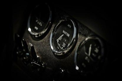 Daimler SP250 Dart dashboard © David Hamilton Melby