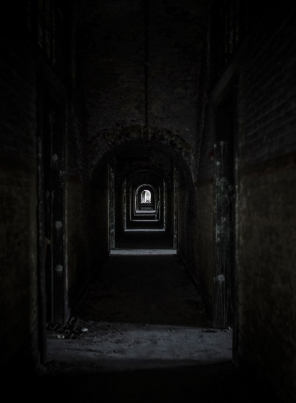 Fort de la Chartreuse military base belgium hallway first floor © David Hamilton Melby