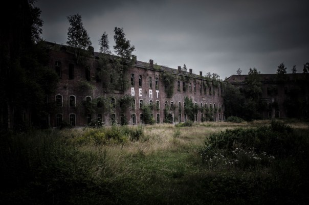 Fort de la Chartreuse military base belgium main building © David Hamilton Melby