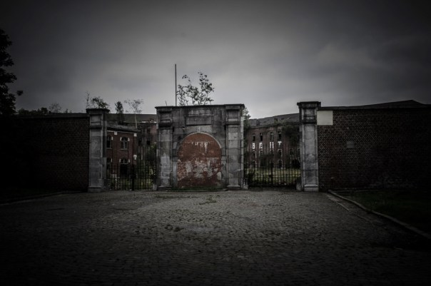 Fort de la Chartreuse military base belgium main entrance © David Hamilton Melby